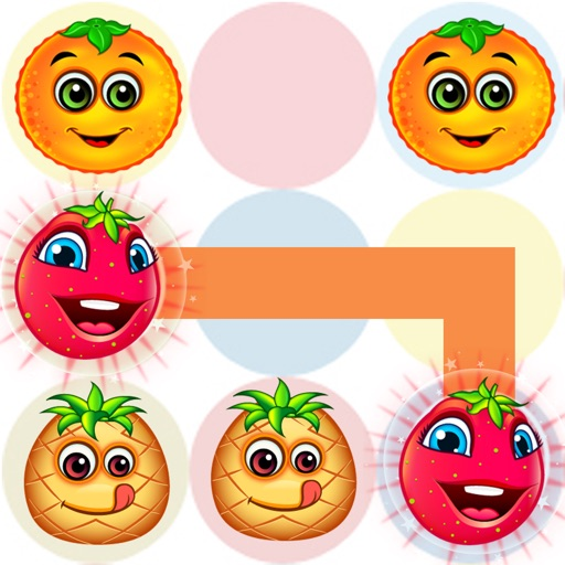 Line & Dot link color match search