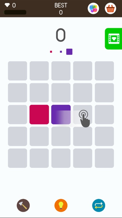 Squares: A Game about Matching Colors screenshot-0