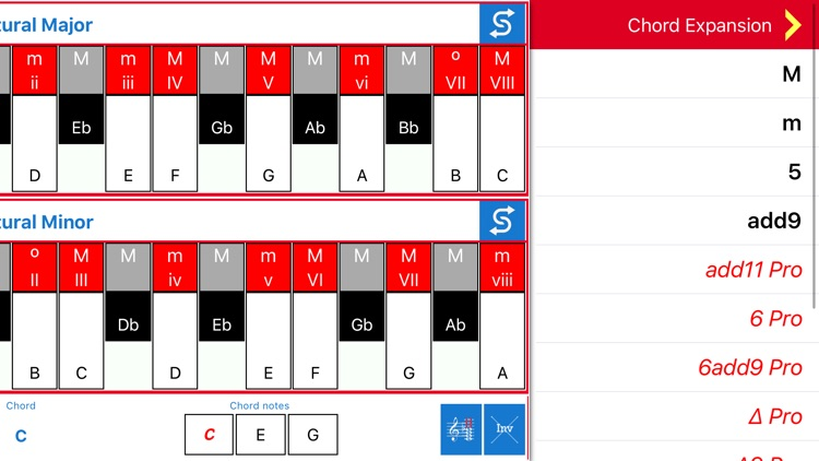 BComposer Scales Lite screenshot-3
