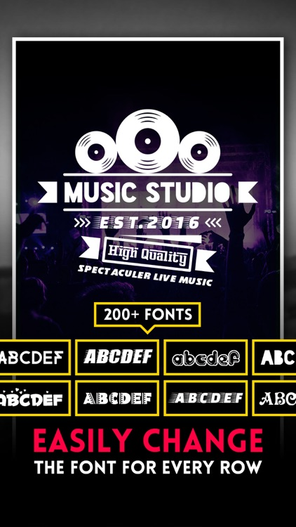 Logo Swag - Instant generator for logos, flyer, poster & invitation design
