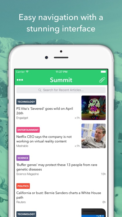 Summit - Summarized News Reader screenshot-4