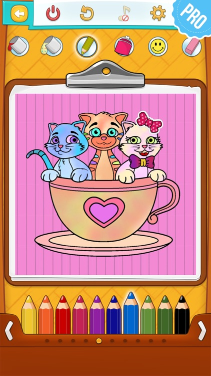 Cat Coloring Pages Pro