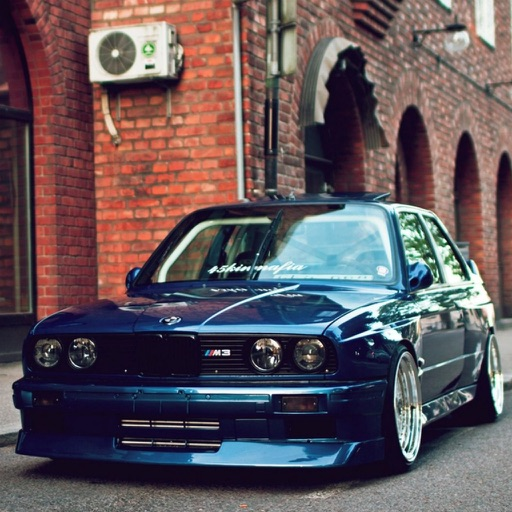 HD Car Wallpapers - BMW M3 E30 Edition