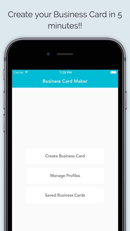 Business card maker app by sagar joshi business card maker app flashek Image collections