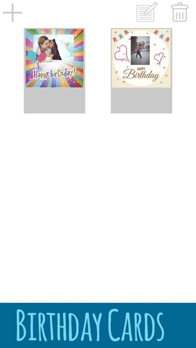 誕生日カードを作成 - お祝いの編集とデザインポストカードを紹介画像4