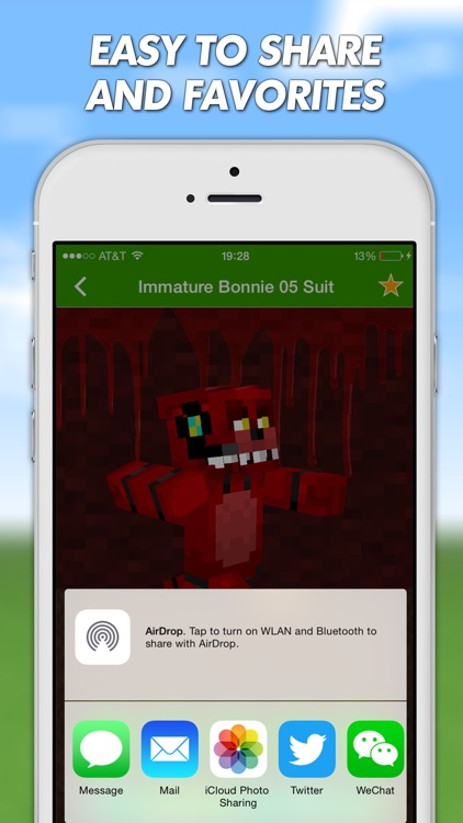 FNAF Skins For Minecraft PE (Pocket Edition) Free screenshot-3