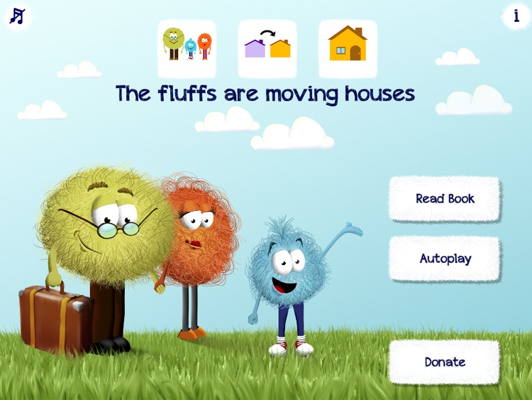 The Fluffs are moving houses