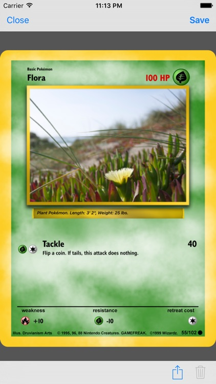 Card Builder for Pokemon screenshot-1