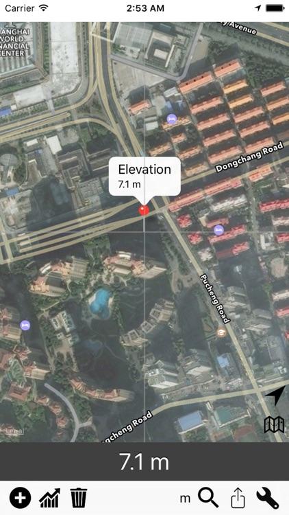 Elevation - Sea Level Map screenshot-3