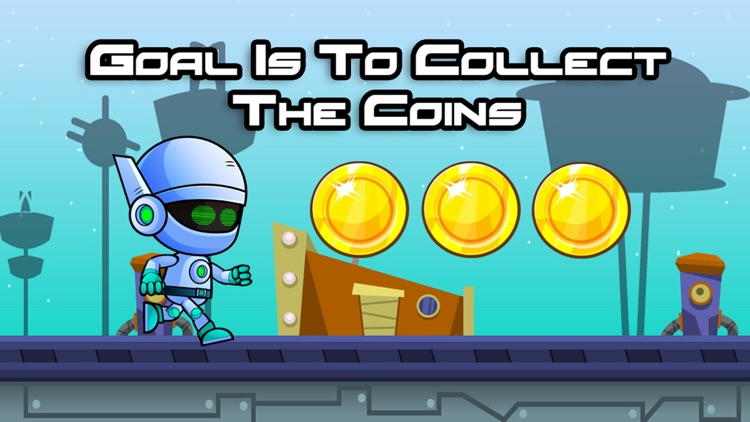 Jetpack Robot Game screenshot-3