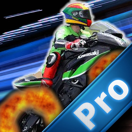 A Motorcycle In Extreme Flames PRO - Fast Game