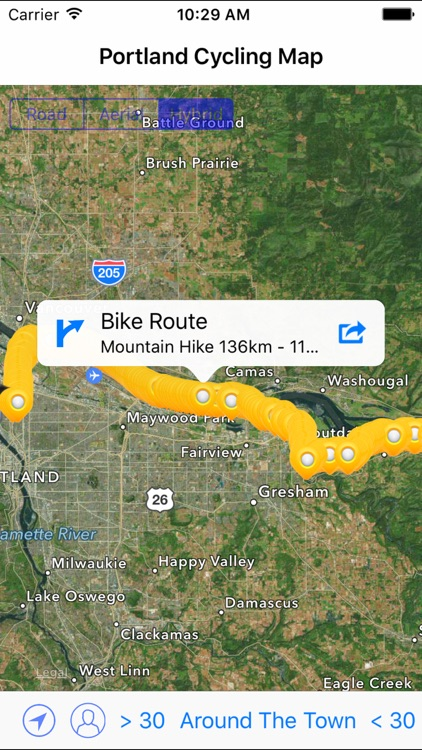 Portland Cycling Map screenshot-0