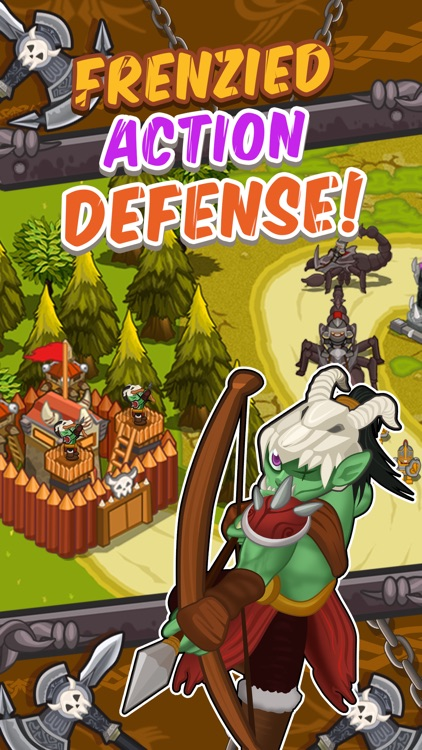 Tower Defence of the Orc Lord– TD Games for Free 2 screenshot-3