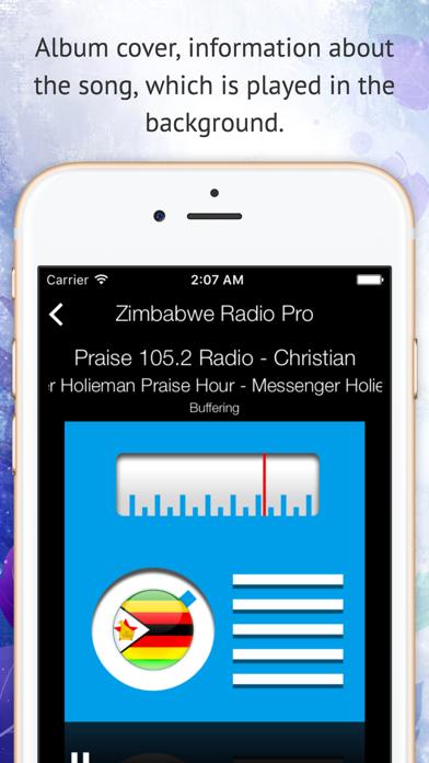 Zimbabwe Radio Pro screenshot two