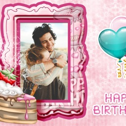Birthday Photo Frame - Make Awesome Photo using beautiful Photo Frames
