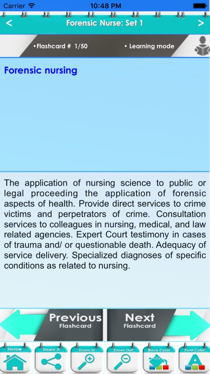 Forensic Nurse: 950 Flashcards, Definitions & Quizzes screenshot-3