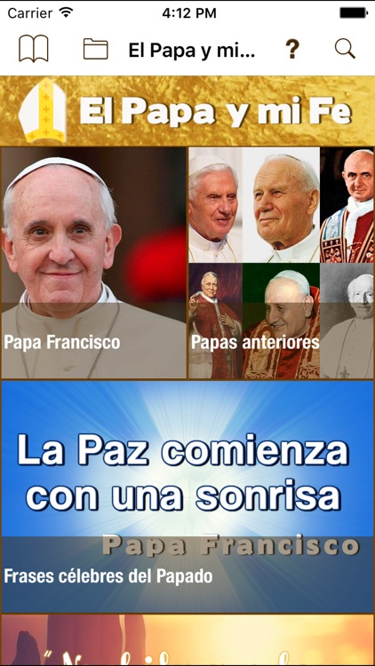El Papa y mi Fe screenshot-0