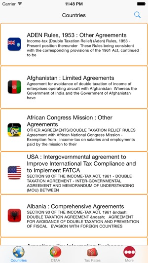 Tax Treaties Dtaa India On The App Store