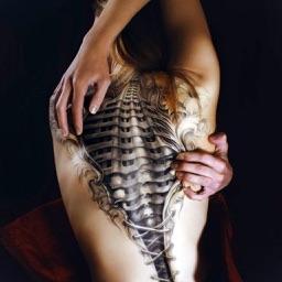 Tattoo - virtual Tattoo Creator Free - Body Art Inked Photo Editor, Artist work on photo Tatoos Studio