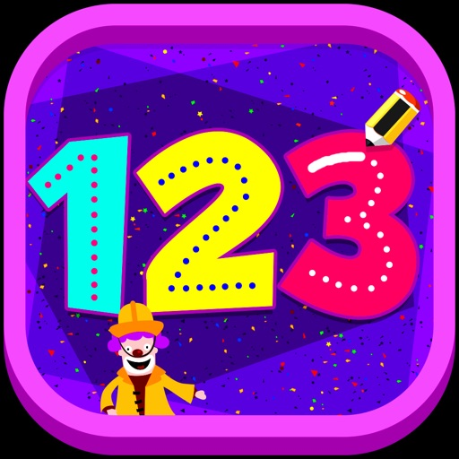 123 Tracing - Learn counting and tracing numbers with interactive activities and puzzles iOS App