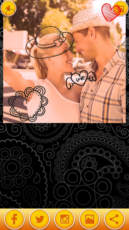 Draw on Photos & Write on Pictures - Add Text to Photo and Make Doodles and Sketches screenshot-3
