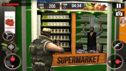 Super-Market Car Driver 3D: Police Shooting Gangster in