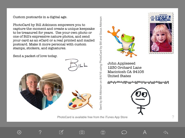PhotoCard by Bill Atkinson on the App Store