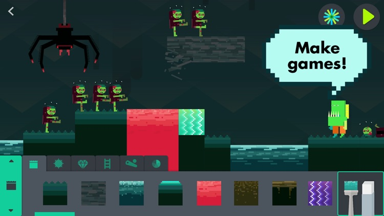 The Infinite Arcade by Tinybop screenshot-0