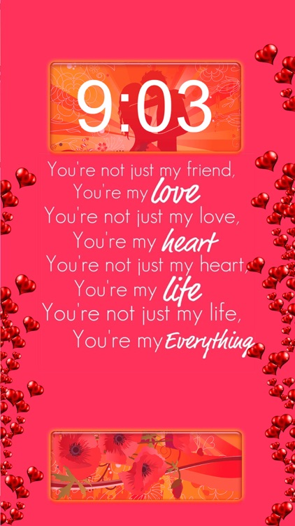Love Quotes Wallpapers Free 2016 – Cute Backgrounds For Girls with Lock Screen Themes screenshot-4