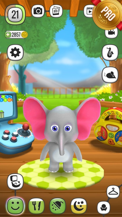 ! My Talking Elephant Elly PRO - Virtual Pet