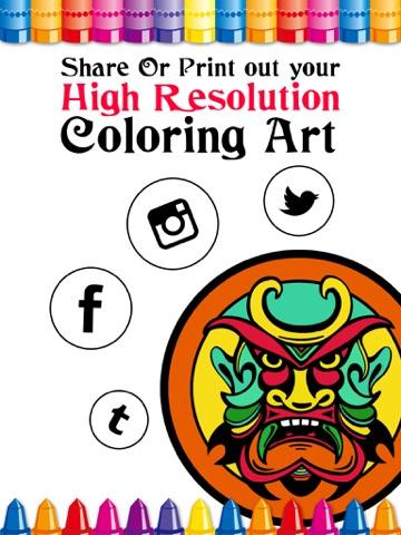 Screenshot 4 For Color Remix Adult Coloring Book
