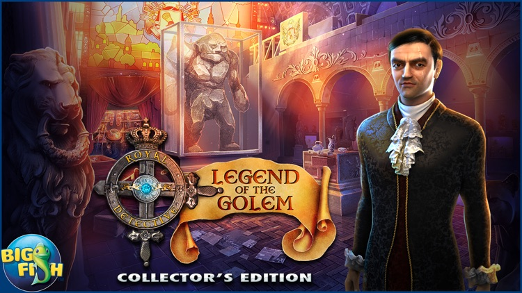 Royal Detective: Legend of The Golem - A Hidden Object Adventure (Full) screenshot-4