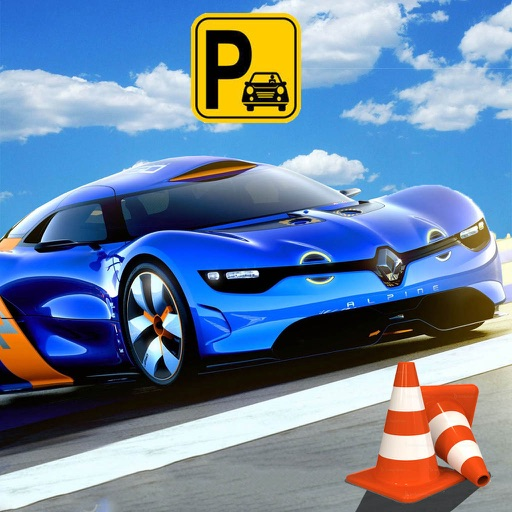 Sports Car Parking Mania icon