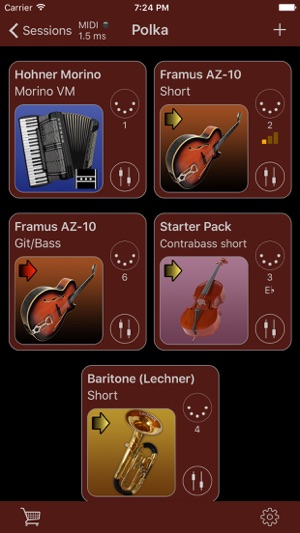 Turbosounds for Accordion on the App Store