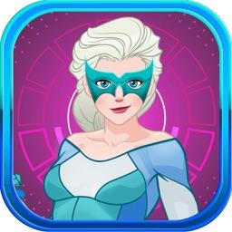 Super Hero Princess Dress-Up 2 – Beauty Makeover Games for Girls Free