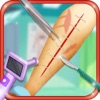 Knee Surgery Simulator - Kids First Aid Helper Game