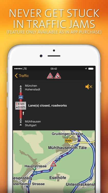 NAVIGON Europe screenshot-3