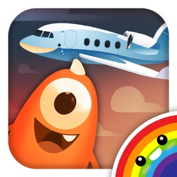 Bamba Airport (Free) - Wacky air travel for kids, get on the airplane off to a holiday