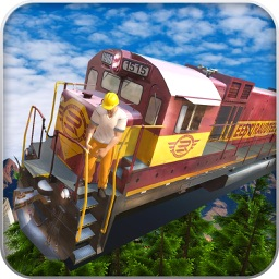 Tourist Flying Train Simulator