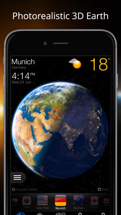 Weather Now Widget for iPhone