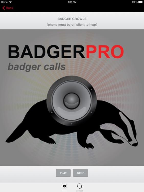 REAL Badger Calls -Badger Sounds for Hunting HD