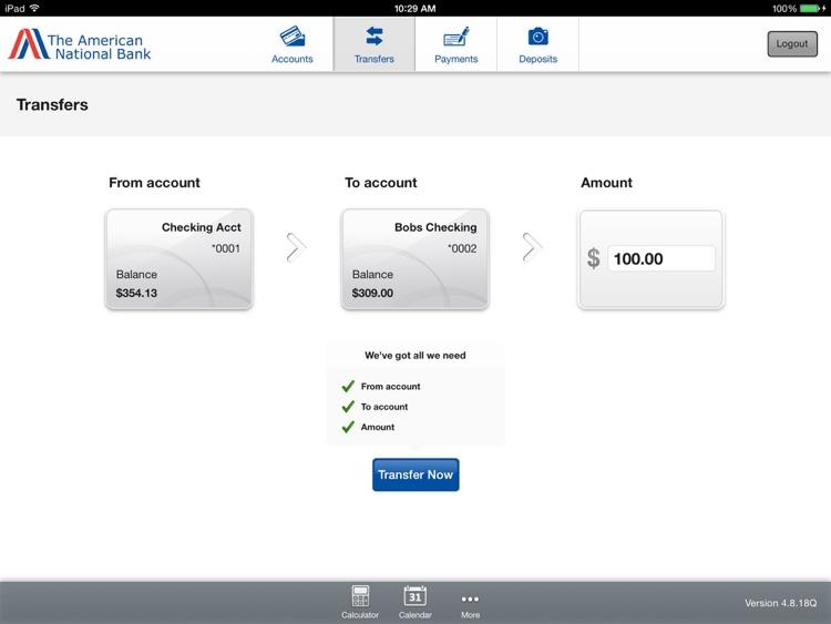 American BankBD Tablet Banking screenshot-3