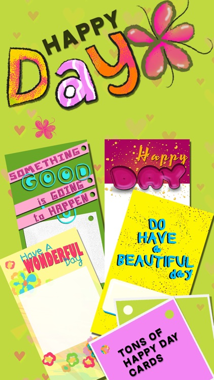 Greeting Cards Maker - Create 'Have a Nice Day' eCards and Invitation.s