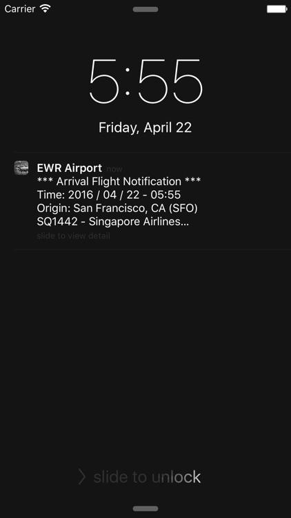 NY Newark Liberty Airport(EWR) Flight Info screenshot-3
