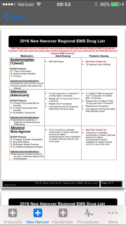 NC EMS Protocols screenshot-4