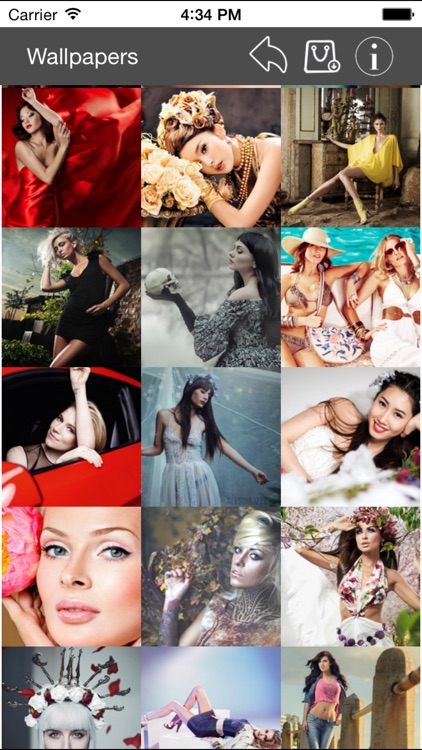 Wallpapers Collection Beautiful Girls Edition