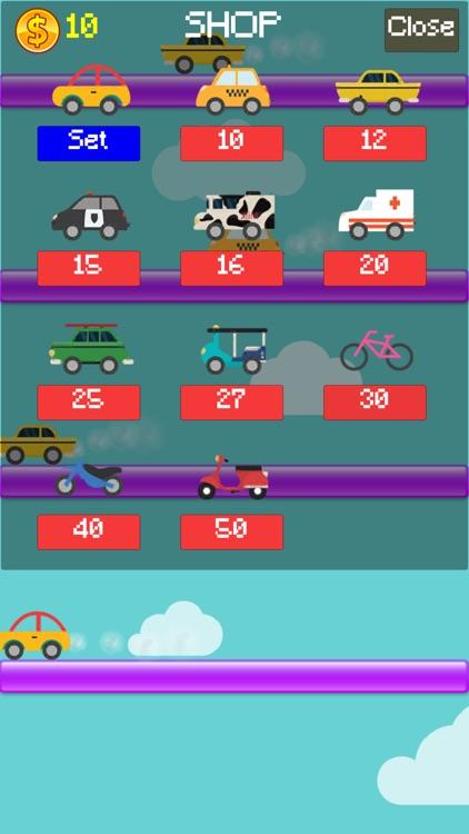 لعبة العربة الشقية Jump Car Game screenshot-3