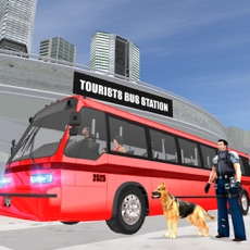 Activities of Police Dog Tourist Bus Station