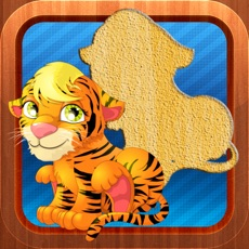 Activities of Animals Puzzles Game for Kids and Toddlers - Pet, Farm and Wild