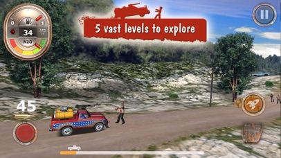 Zombie Derby: Race and Kill screenshot two
